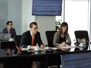 Alejandro Medina Mora en conferencia