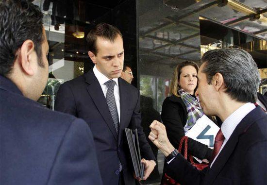 Alejandro Medina Mora en entrevista