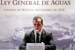 Alejandro Medina Mora en la Conagua